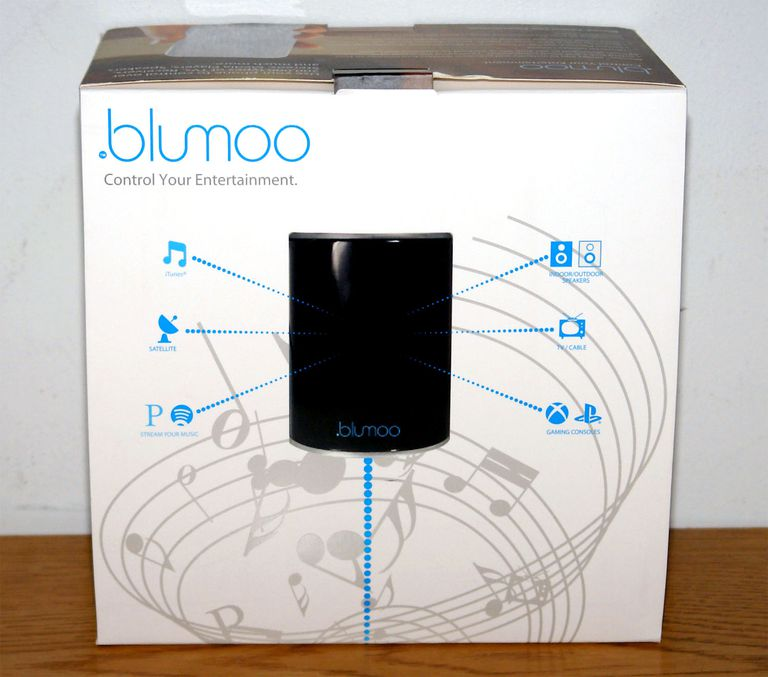 Blumoo Universal Remote Control System - Packaging - Front View