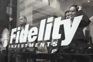 Fidelity Investments workers