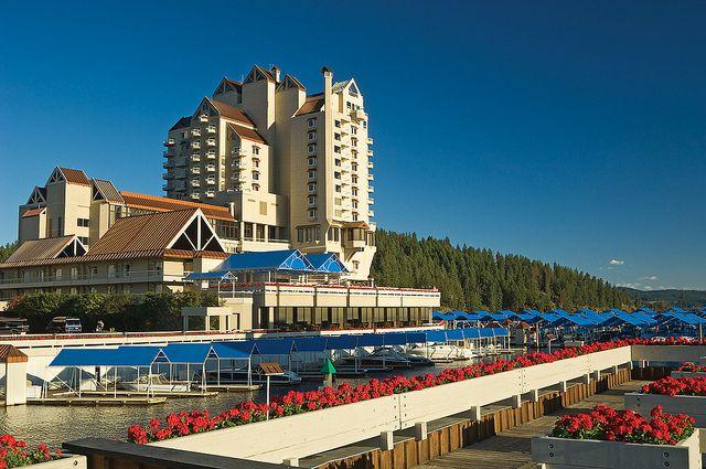 The Coeur d'Alene Resort, Idaho