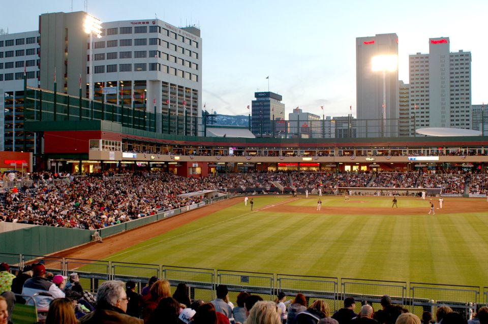 Aces Ballpark, home of the Reno Aces Triple-A baseball team.