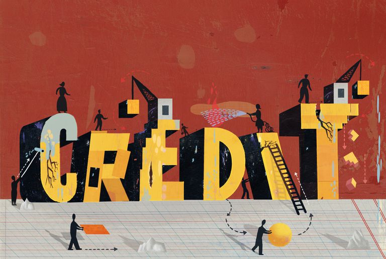 People rebuilding credit