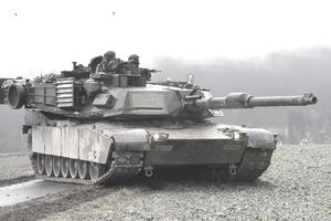 U.S. Army Abrams M1A1 tank
