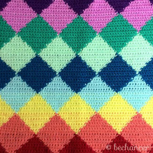 100+ Colorful Crochet Ideas from Bechancer and Others