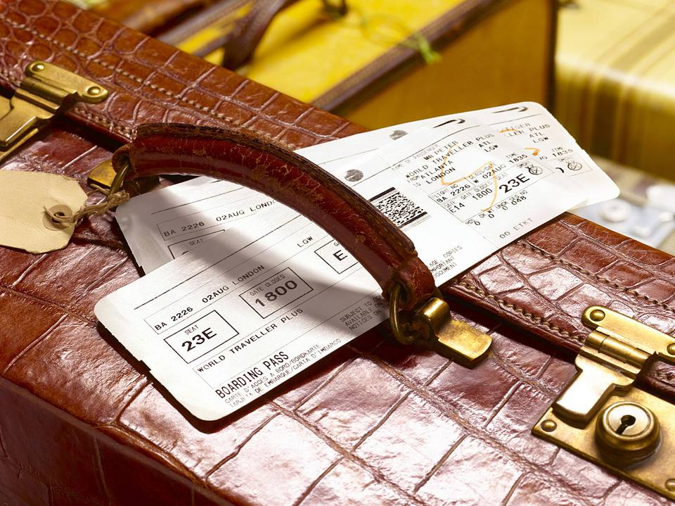 What happens if you can't make your flight. Do you know how to get your ticket price back?