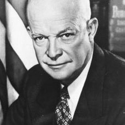 an essay on the life and accomplishments of dwight eisenhower The following is an evaluation of the presidency of dwight eisenhower the perspectives of two different historians, arthur m schlesinger, jr, and.