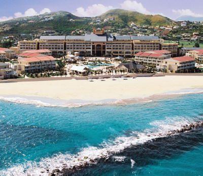 St Kitts Marriott -aerial