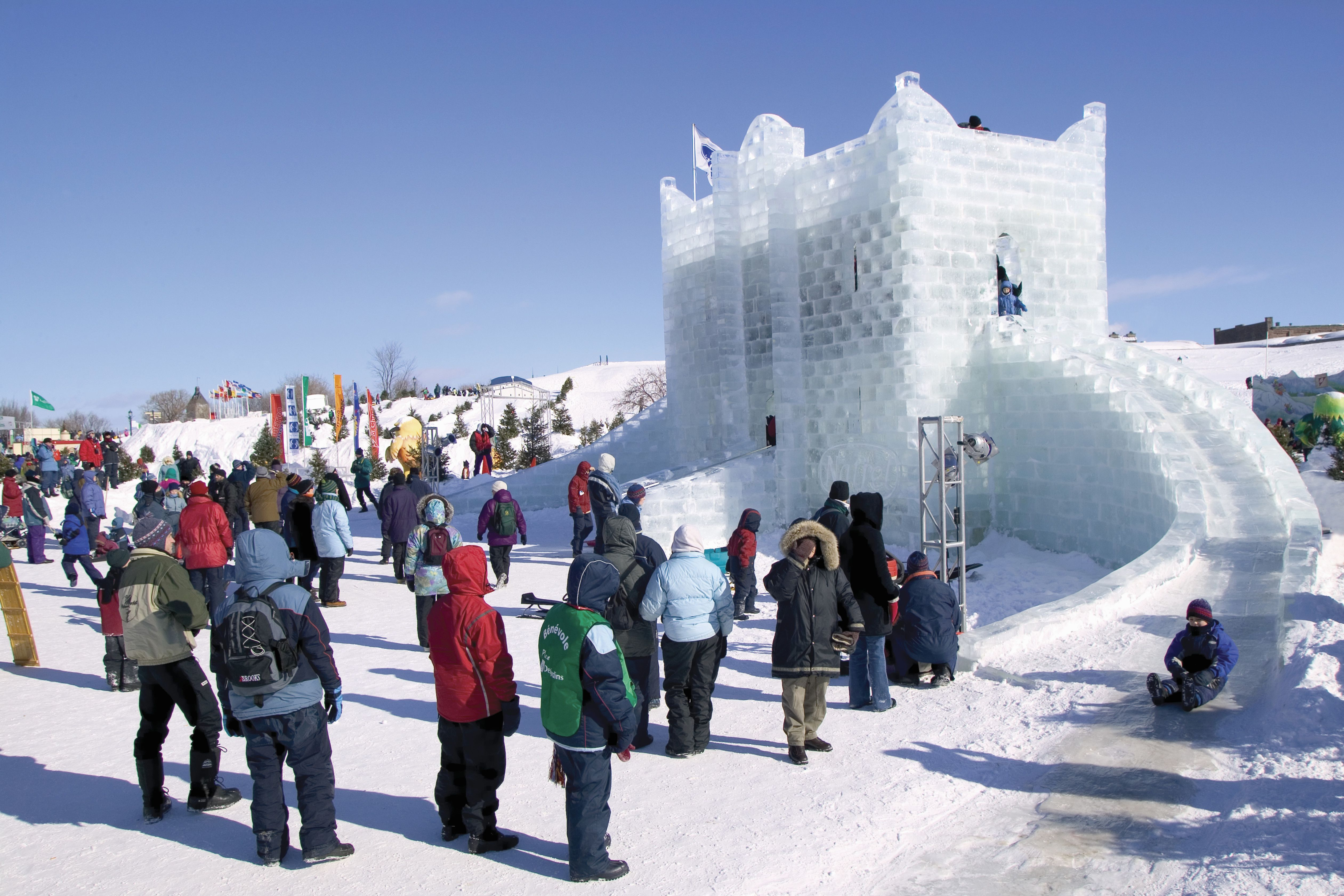 Learn About Visiting Canada In Winter - 10 ideas for winter fun in quebec city