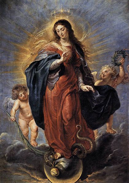 La Inmaculada Concepción de Pedro Pablo Rubens