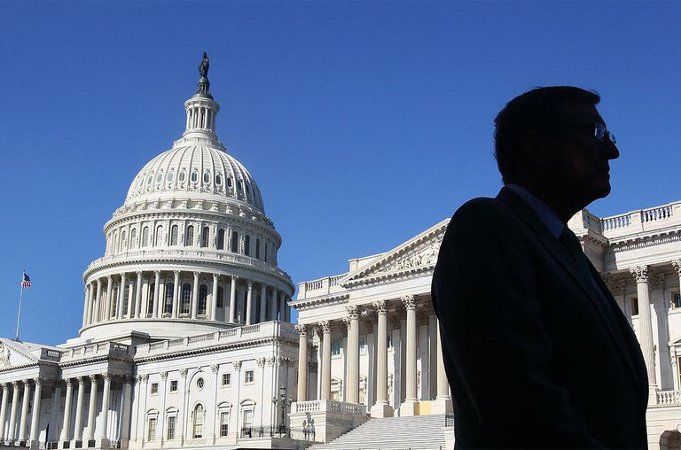 Senate Budget Committee Chairman Sen. Kent Conrad (D-ND) stands outside of the U.S. Capitol on August 2, 2011 in Washington, DC.