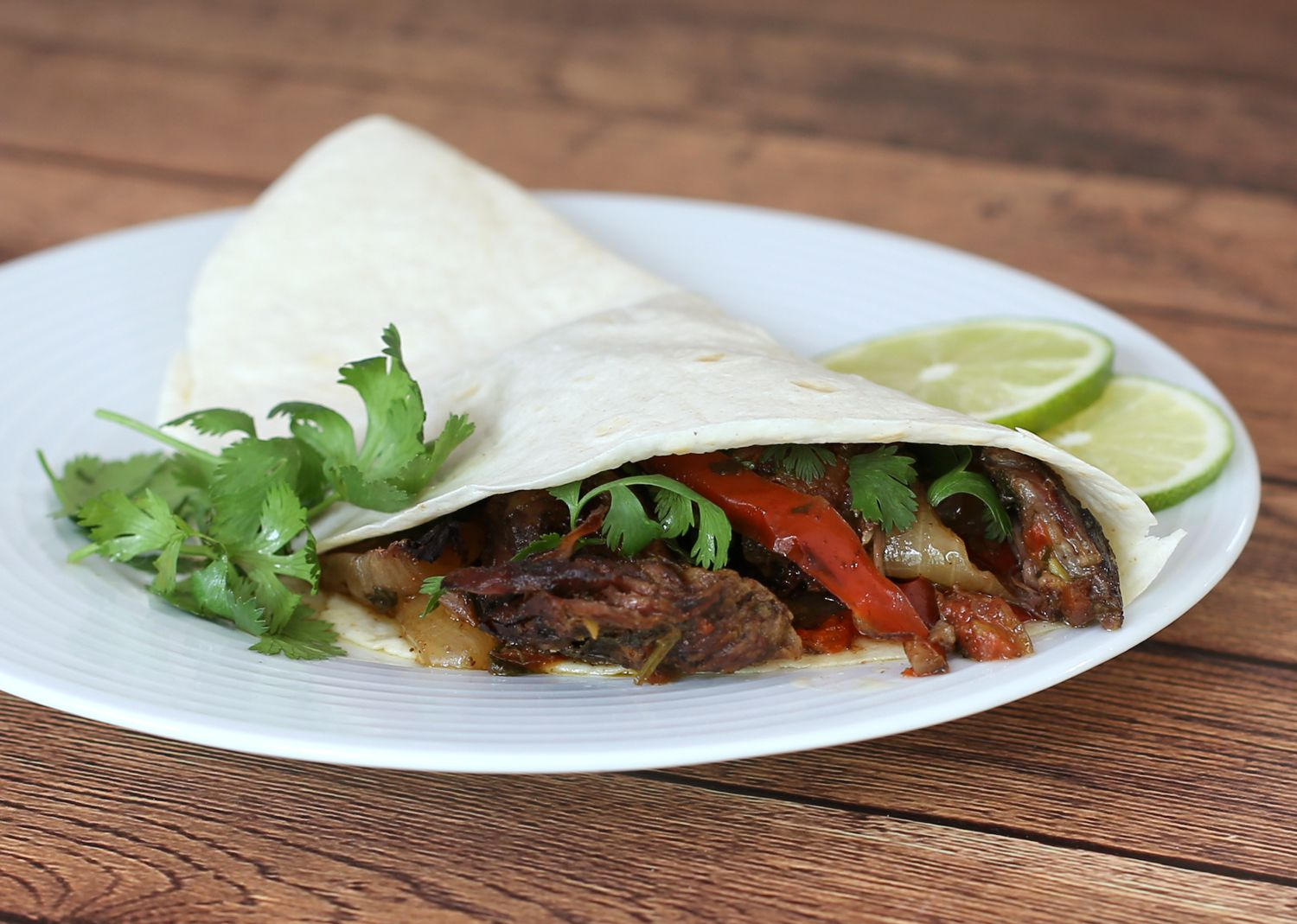 Crockpot Steak Fajitas Recipe