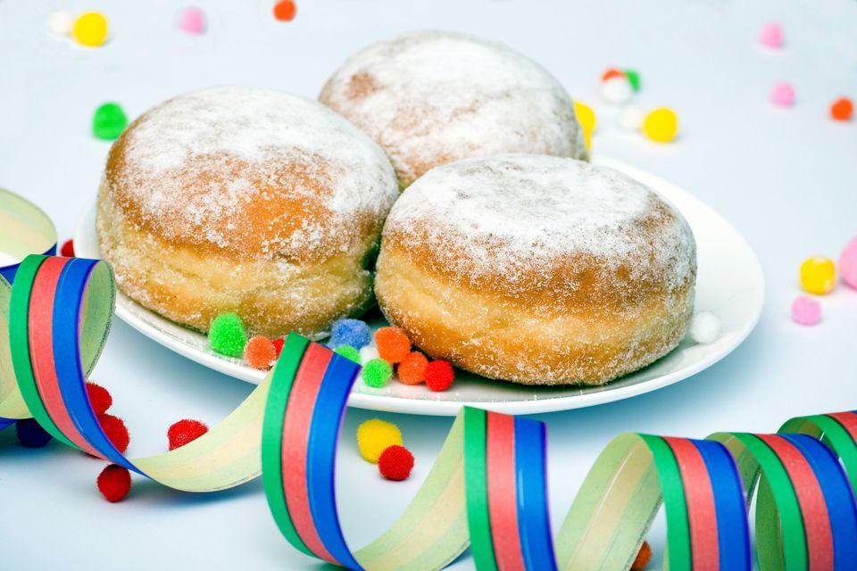 Krofne Serbian Doughnuts