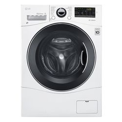 LG Electronics 2.3 cu. ft. All-in-one Front Load Washer and Electric Ventless Dryer in White