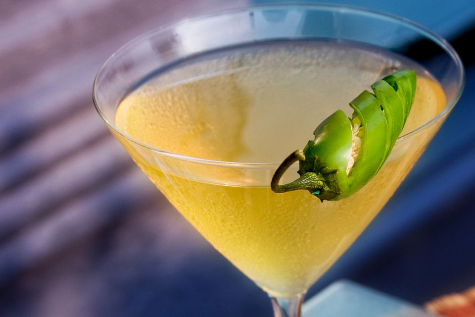 Spicy Jalapeno Margarita Cocktail Recipe