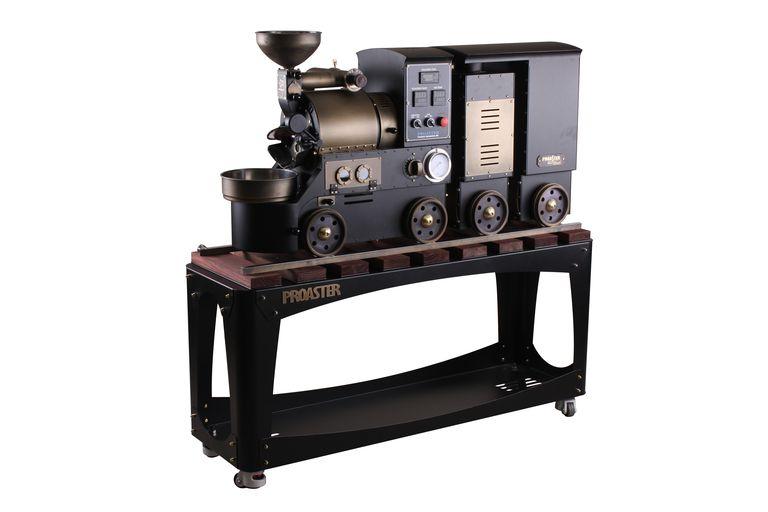 Proaster train shaped home coffee roaster