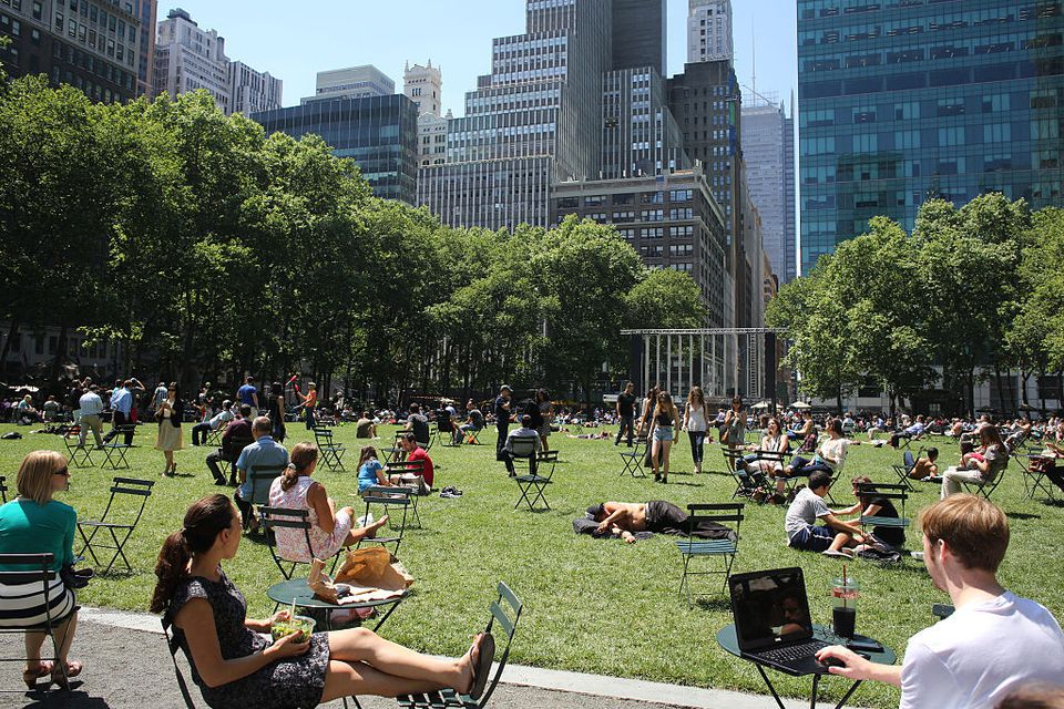 Top parks in Manhattan