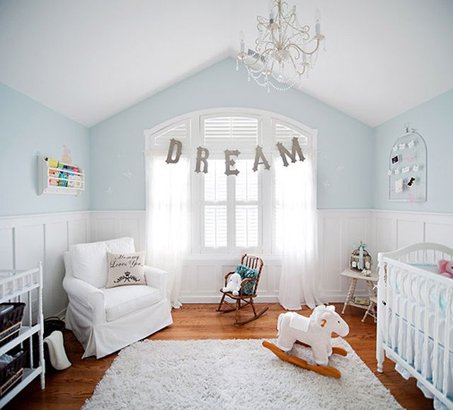 Factory Paint Decorating Color Filled Nurseries: Calming Nursery Colors