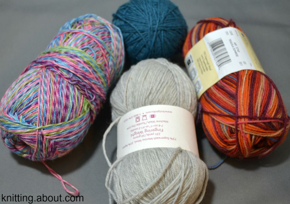 How is sock yarn defined and what makes a good sock yarn?