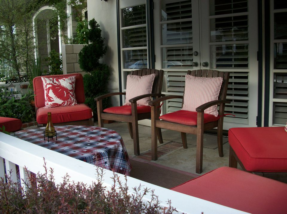 patriotic decorations porch fourth of july cushions and pillows