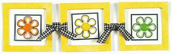 How to Create a Border with Ribbon Tied Frames