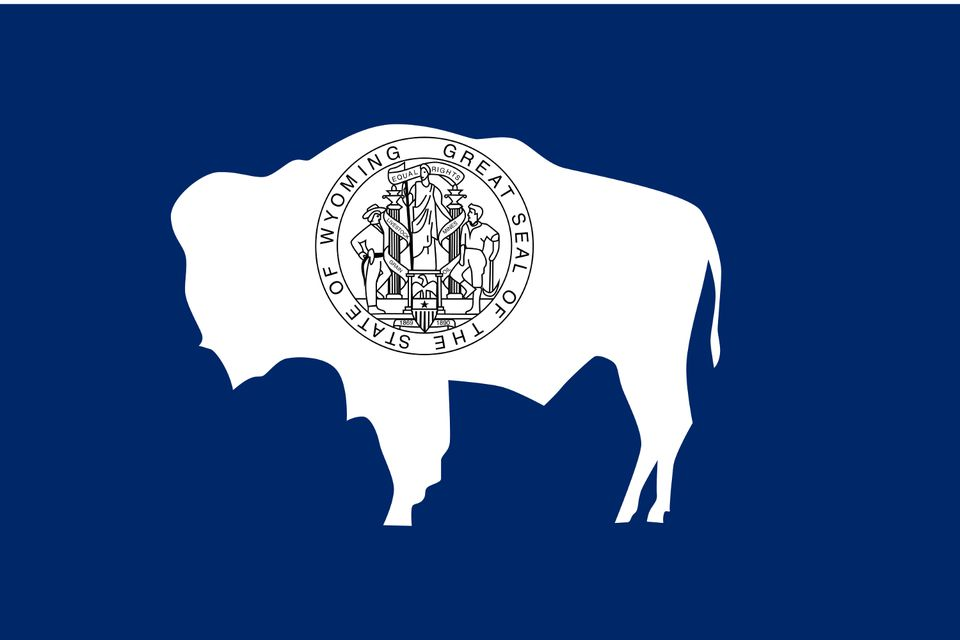 State seal of Wyoming