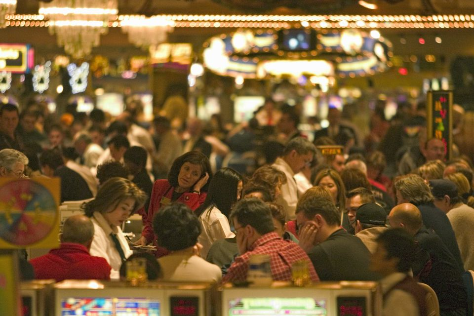 Las Vegas casinos are designed to keep you focused on the gaming.