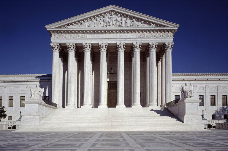 US Supreme Court building West Entrance