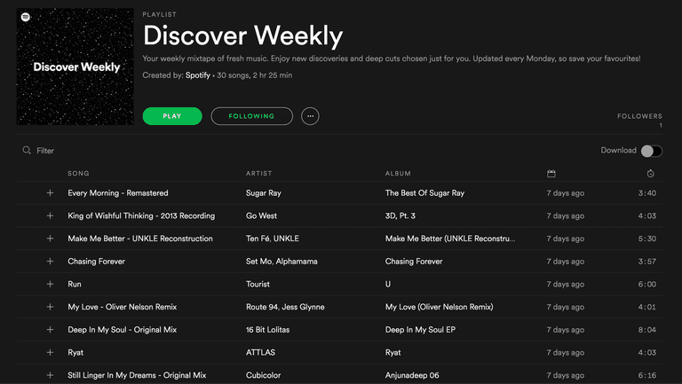 22 spotify tips and tricks to pump up your music streaming spotify discover weekly malvernweather Choice Image