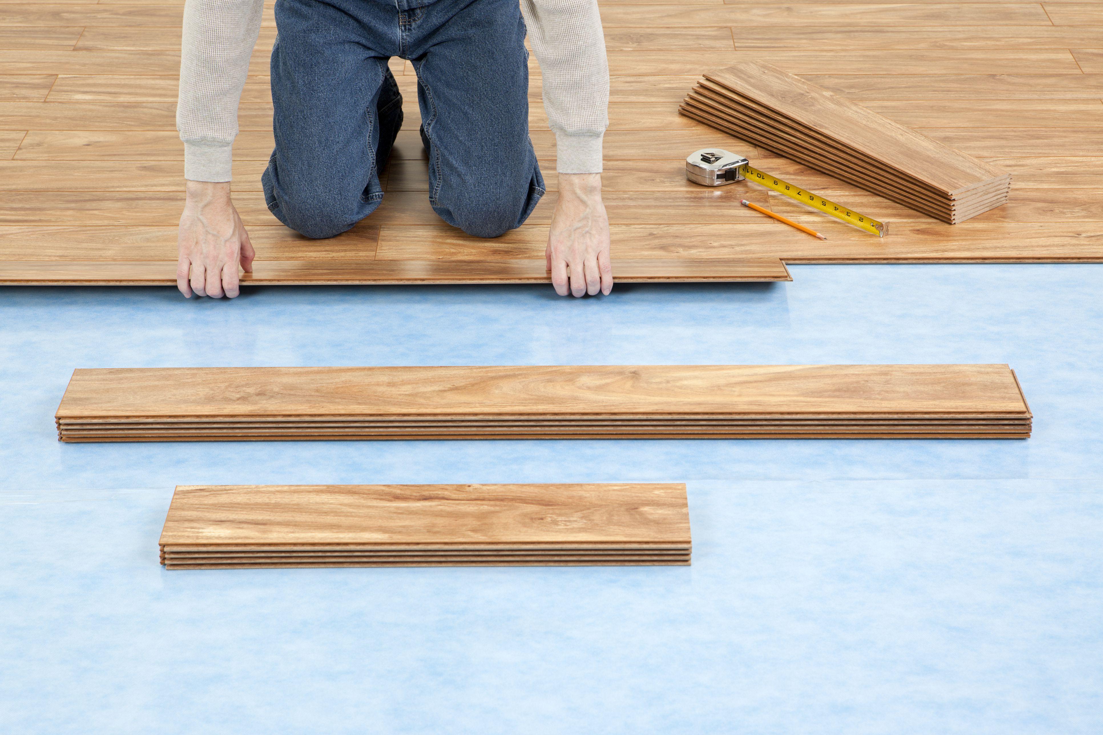 Pre Attached vs Separate Underlayment Laminate Floor
