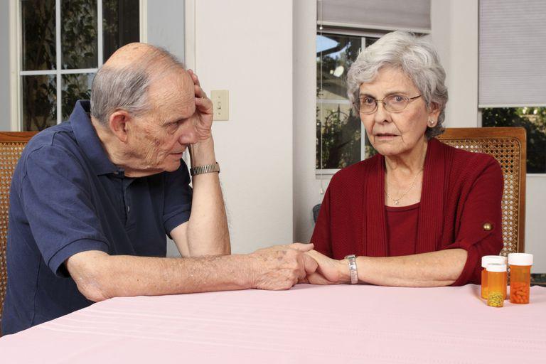 Husband Reassuring Wife
