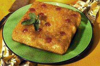 Double Pineapple Upside Down Cake Recipe