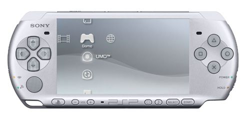 PSP-2000 in Ice Silver