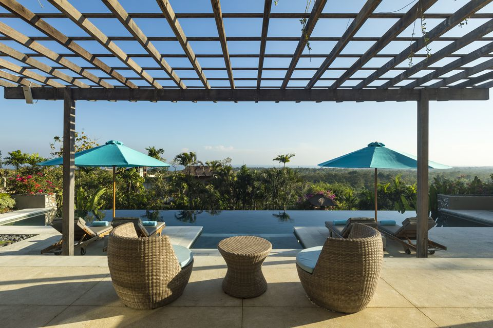 Luxurious villa with swimming pool in Bali