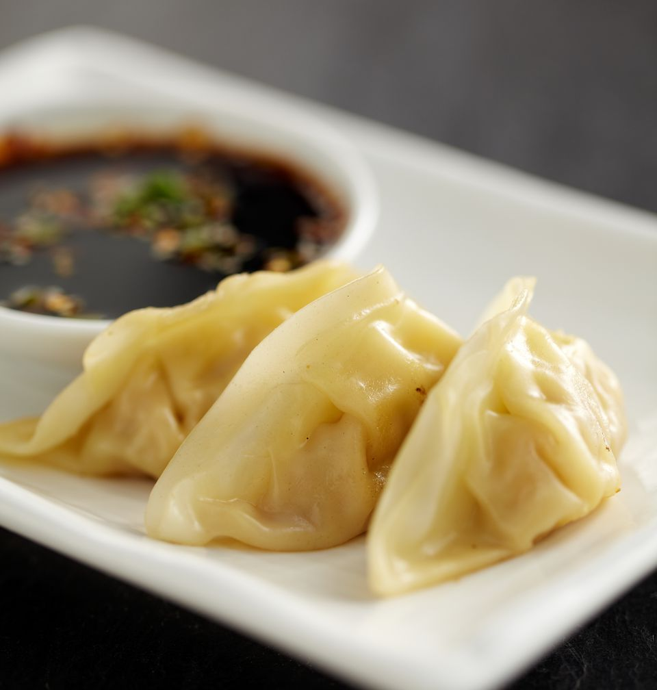Japanese vegetarian and vegan food recipes mushroom and tofu potstickers photo by getty images japanese cuisine calls these little vegan forumfinder Choice Image