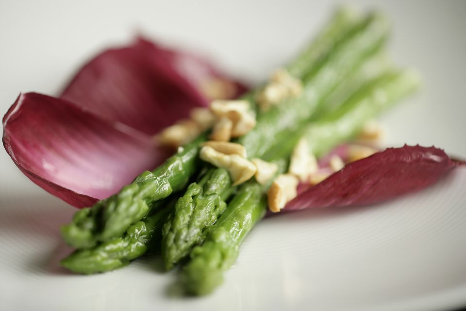 Vegetable plate of Asparagus