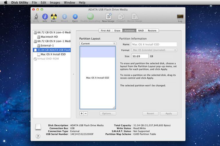 how to make bootable usb for os x lion