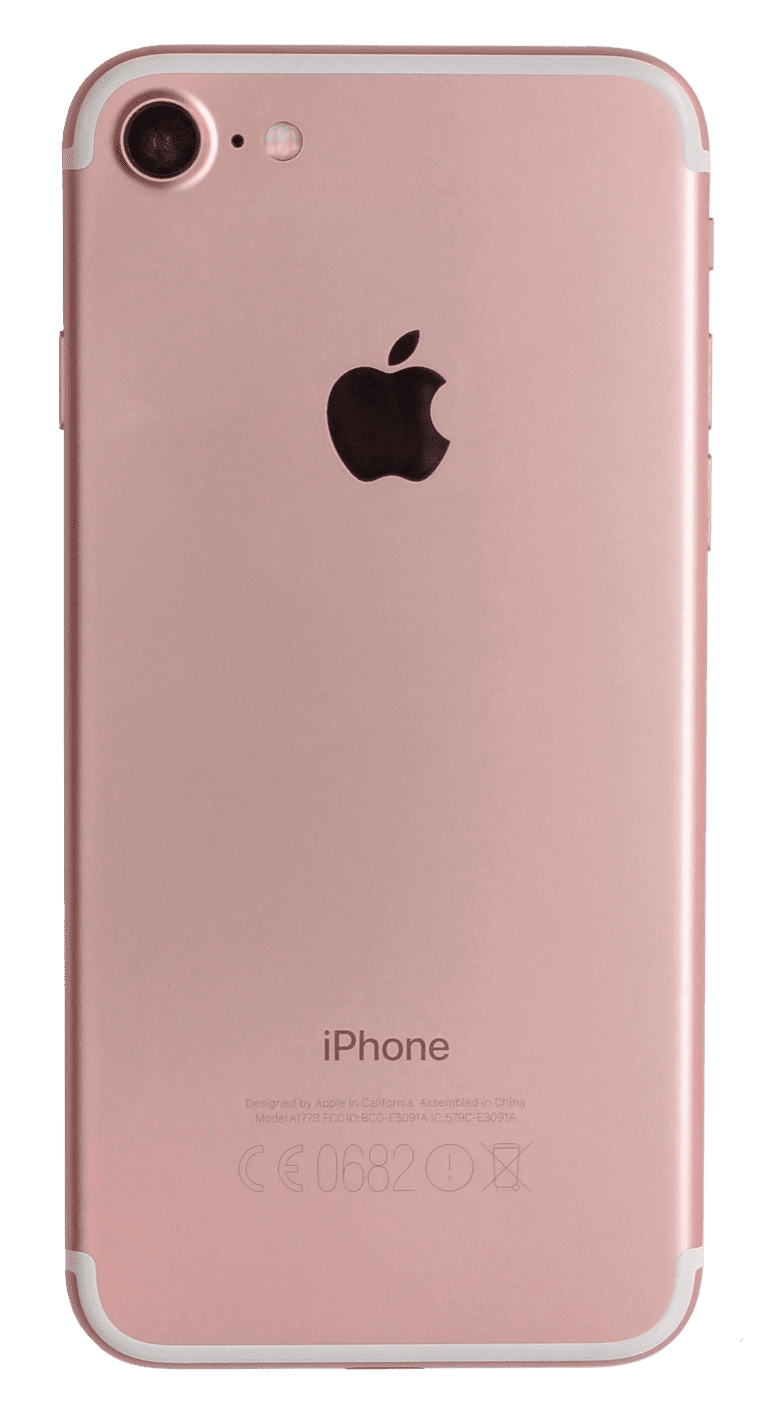 iPhone 7 - A1778 Rose Gold back