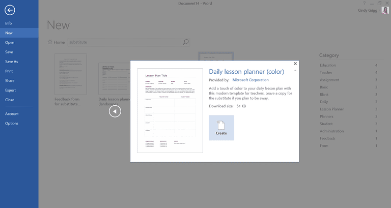 Free Customizable Templates For Teachers From Microsoft - Blank daily lesson plan template