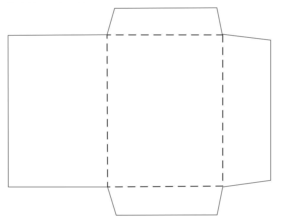 Envelope for 8 5 x 11 envelope template