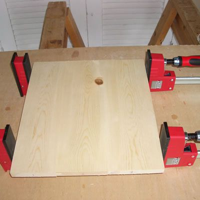 Clamping the Tongue and Groove Assembly