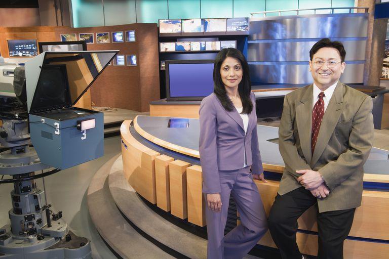 Newscast Set