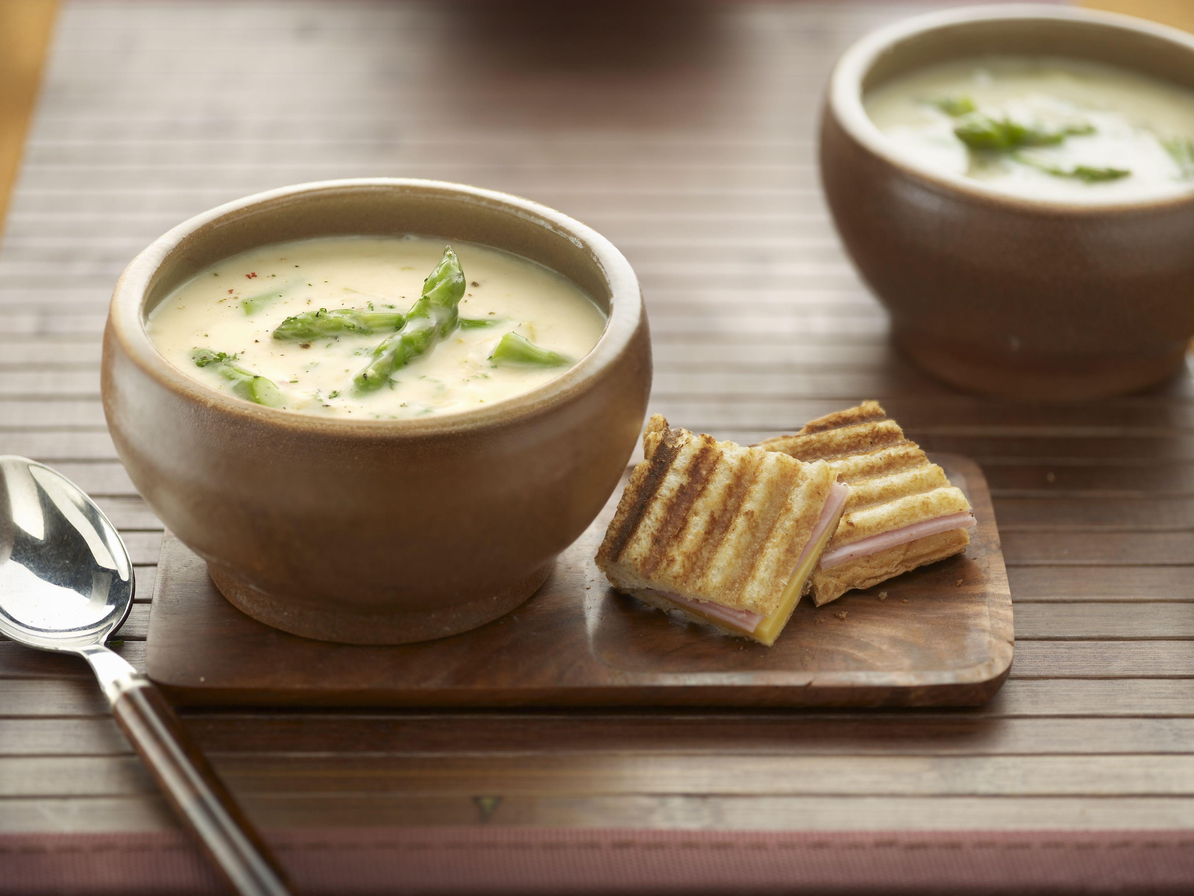 creamy asparagus soup recipe - Asparagas Soup