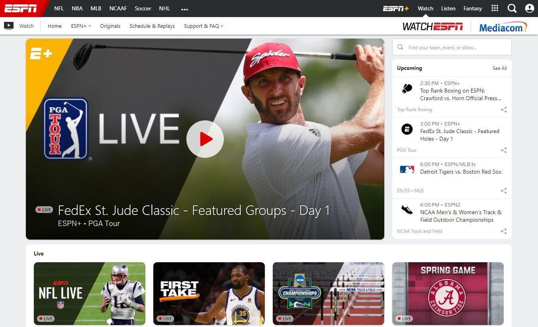 watch live free sports on espn