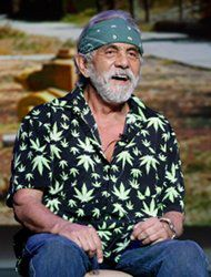Tommy Chong comedian actor and Marijuana advocate in Los Angeles
