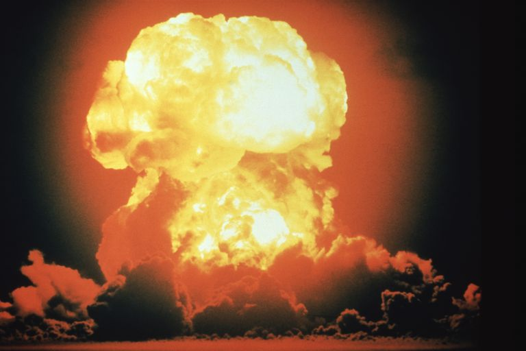 Hydrogen bomb explosion, Bikini Atoll, May 1956