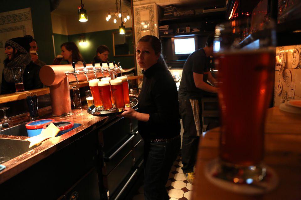 Berlin brewery - hops & barley