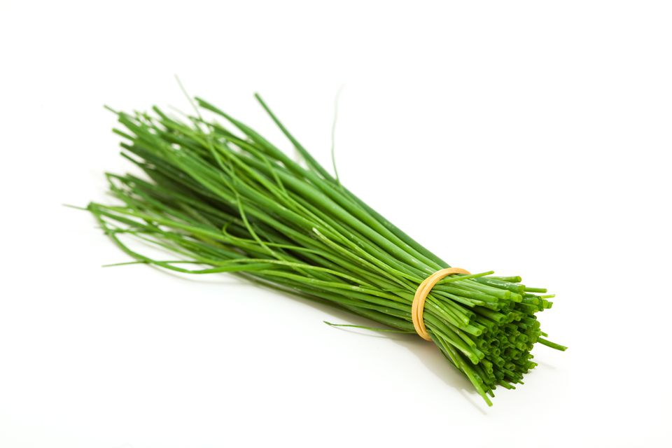 Bundle of fresh chives
