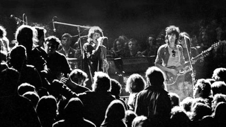 The Rolling Stones at Altamont