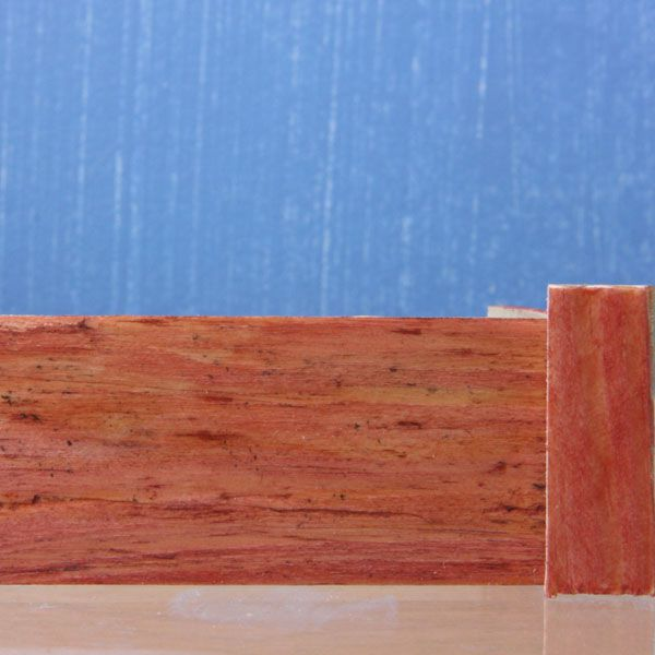 Raw Mahogany Wood ~ Add a realistic faux mahogany finish to almost anything