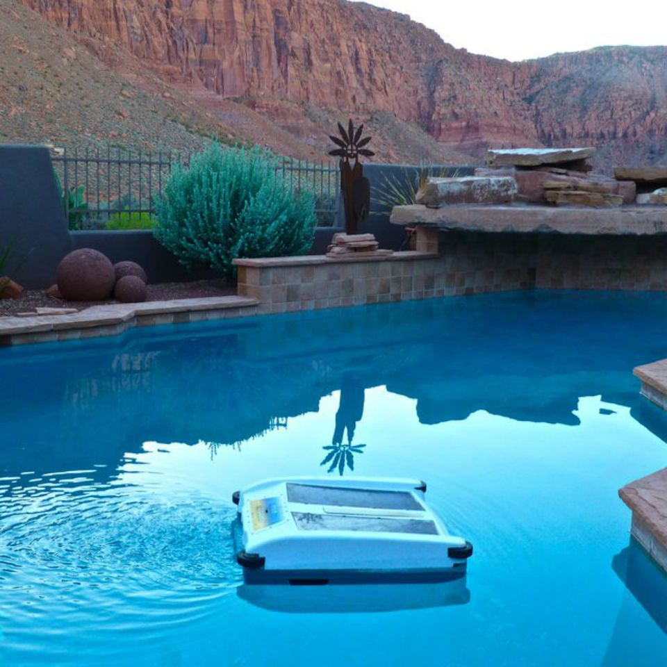 What is a pool or spa skimmer used for - Define poolside ...