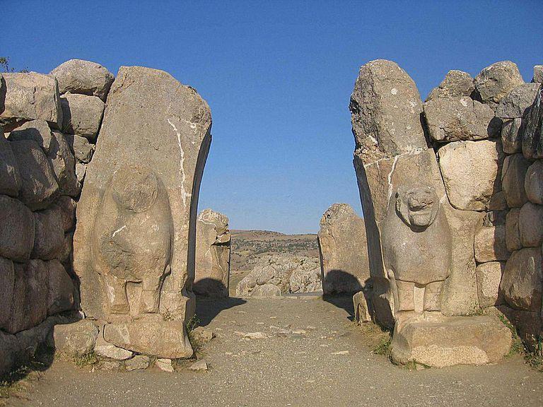 Hattusha Lion Gate